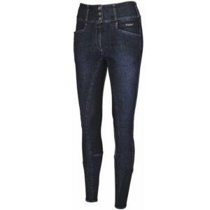 Pikeur Candela Jeans Grip blauw voorzijde