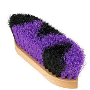 Leistner Dandy Brush zwart/paars