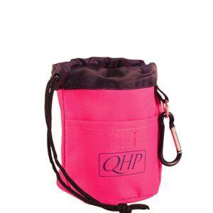 QHP tas voor paardensnoepjes Fuchsia