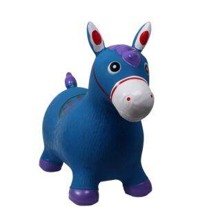 QHP Jumpy Horse skippyball blauw