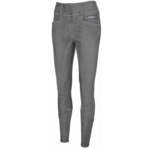 Pikeur Candela Jeans Grip grijs voorzijde