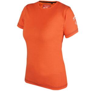 T-shirt KNHS 2020 oranje kinder voorzijde