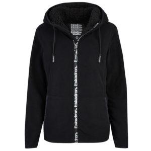 Eskadron hoodie Tara zwart voorzijde